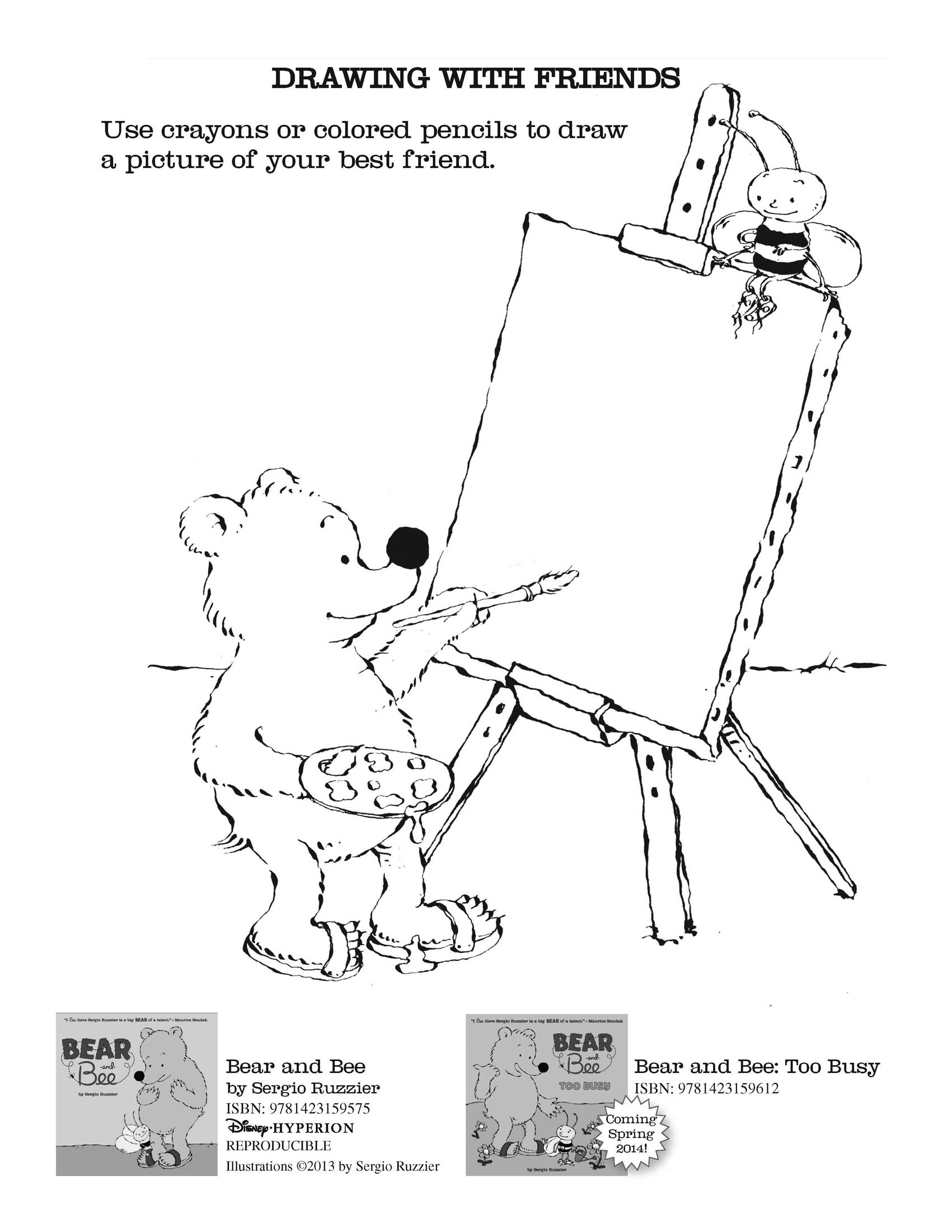 0 Comments On Bear And Bee Activity Sheets As Of 1 1900