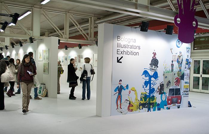 The Bologna Children's Book Fair's Illustrators Exhibition