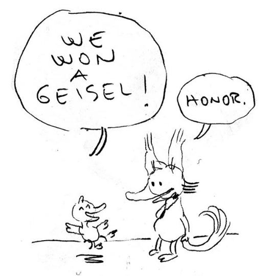 Fox + Chick Win a Geisel Honor!